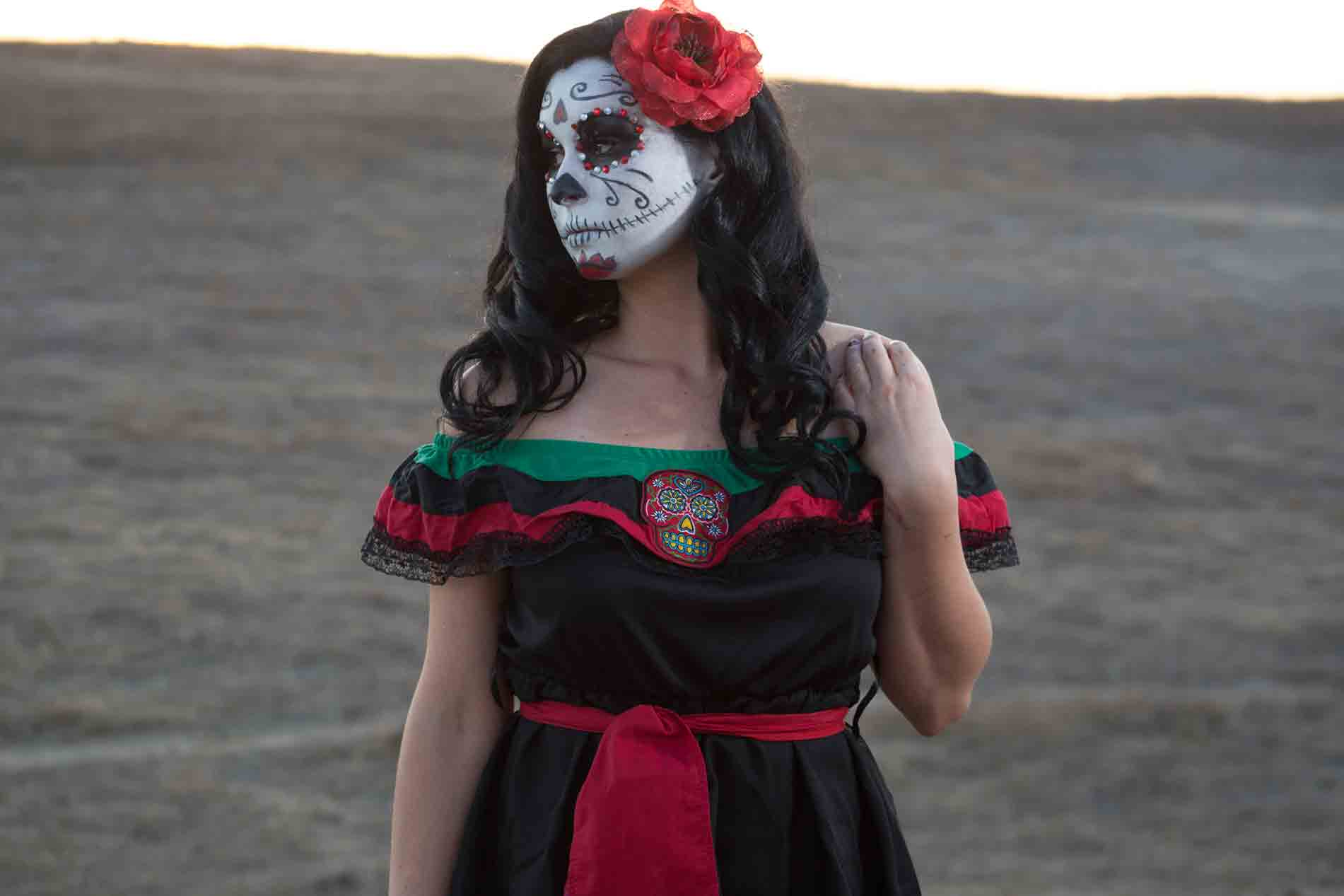 Day of the Dead Makeup Shoot
