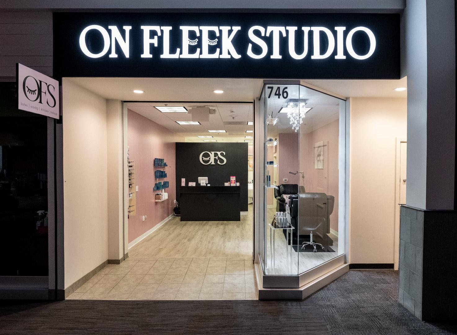 On Fleek Studio inside Santa Rosa's Coddingtown Mall